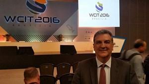 Arildo Constantino representou a Assesspro-SP no WCIT