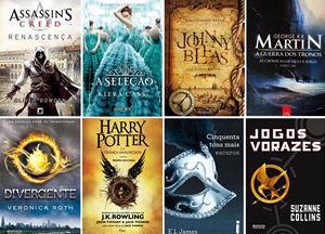 veja os livros, as sagas e as trilogias de grande sucesso