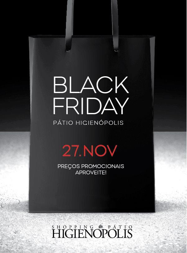 """2d7ed6e23f Lojas do Shopping Pátio Higienópolis também fazem parte do movimento """"Black  Friday"""" 2015"""
