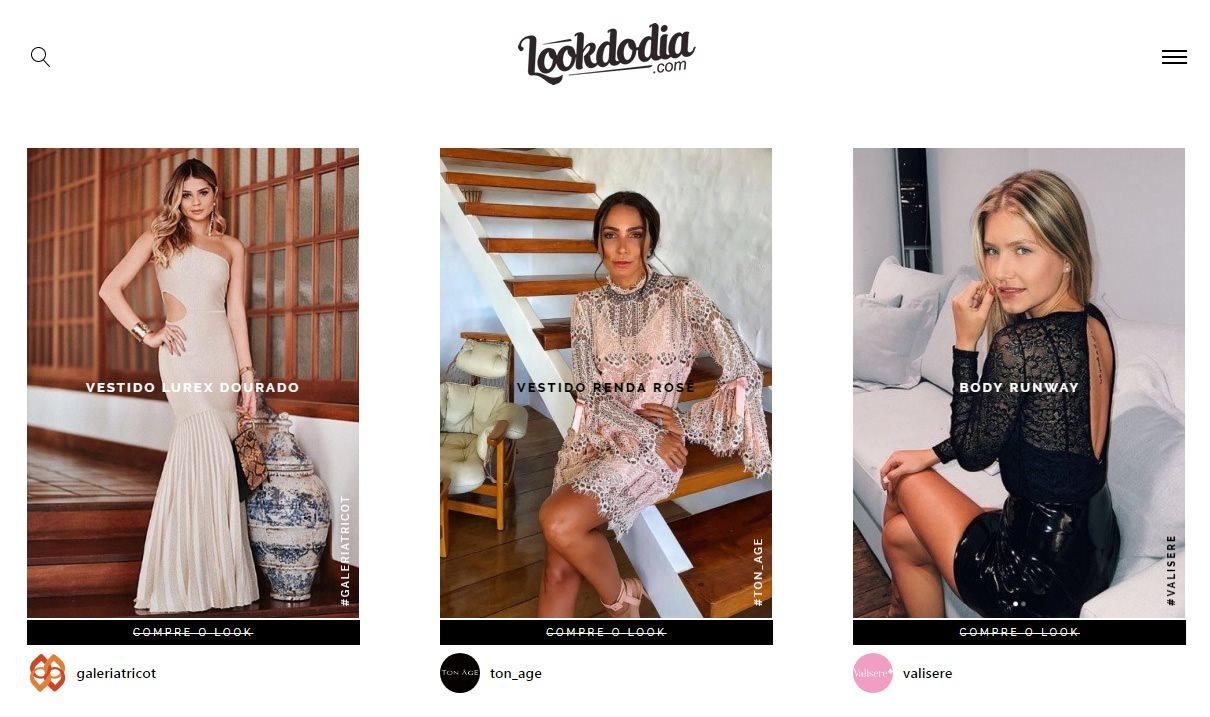 b7b36ac4d Look do dia  site revela onde comprar looks usados por celebridades