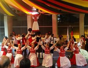 1º Encontro de Danças Folclóricas Alemãs no Colégio Benjamin Constant