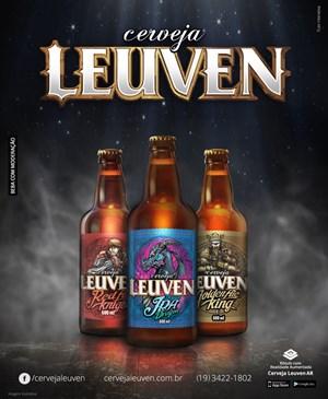 Novos rótulos em Realidade Aumentada das cervejas especiais Leuven