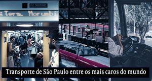 Custo do transporte em São Paulo