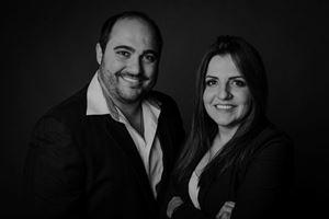 Thiago Seber e Emanuela Morais