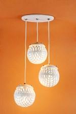 Luminárias pendentes de cerâmica ajudam a transformar a decoração