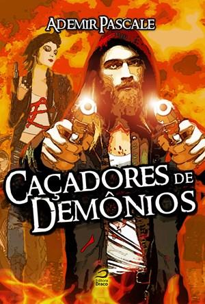 """Capa do livro """"Caçadores de Demônios"""""""