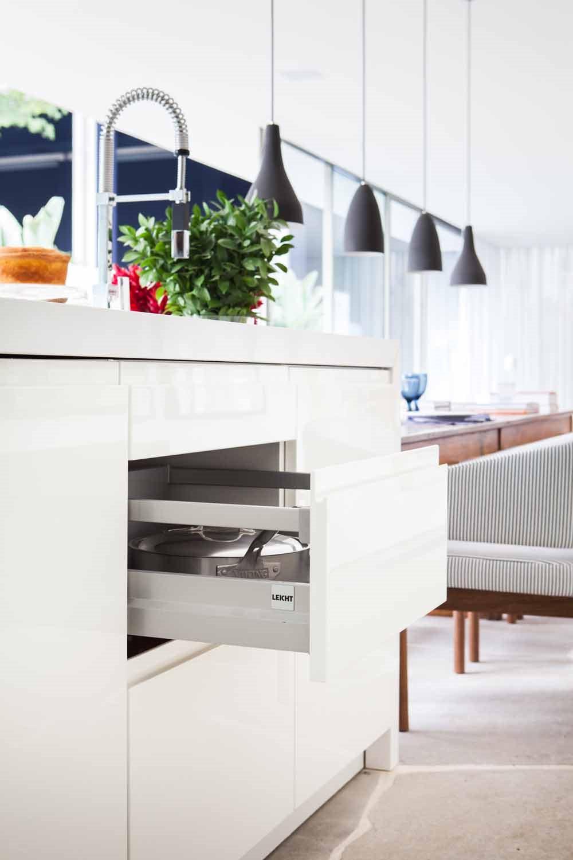 Ambiente Com Cozinha Leicht Est Entre Os Melhores Da Casa Cor 2013