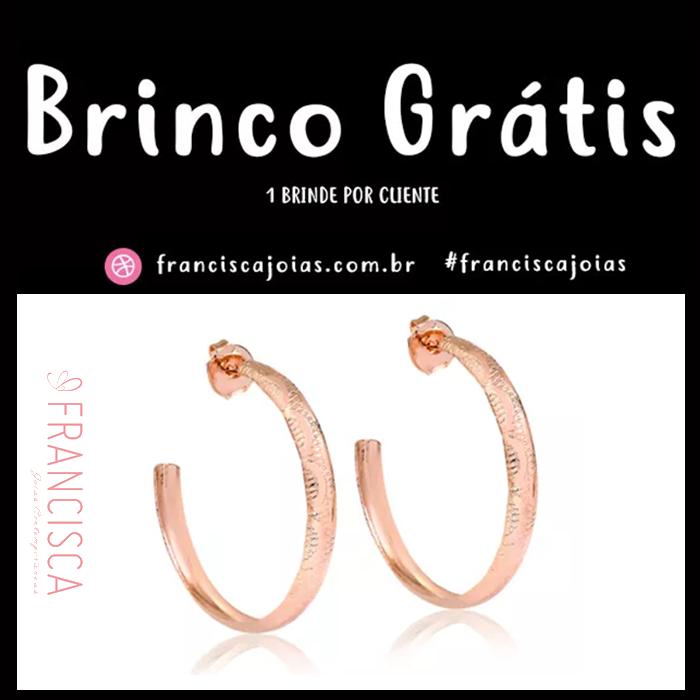 022c6e3ee5586 Francisca Joias Contemporâneas, loja especializada em venda de joias  online, lança para o fim de ano uma ação que vai presentear seus clientes  com um brinco ...