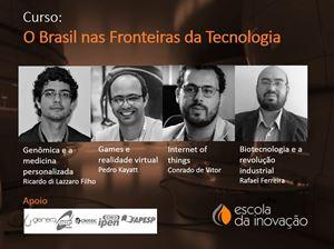 Curso O Brasil nas fronteiras da tecnologia