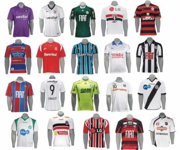 ba355a6e40632 As dez camisas mais vendidas do futebol brasileiro em 2016