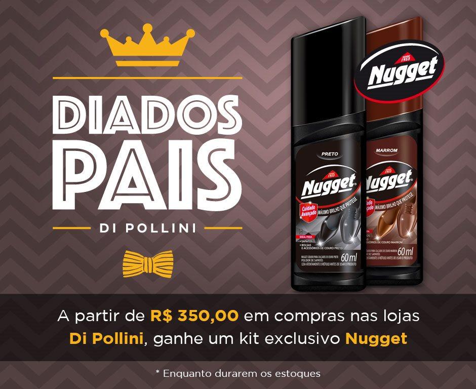 Di Pollini realiza promoção com a Nugget para compra de sapatos ... 8d32bded9a531